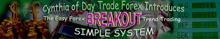 Cynthia's advanced breakout trend trading simple system