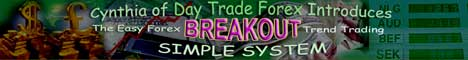 Cynthia of Day Trade Forex's Simple Breakout System